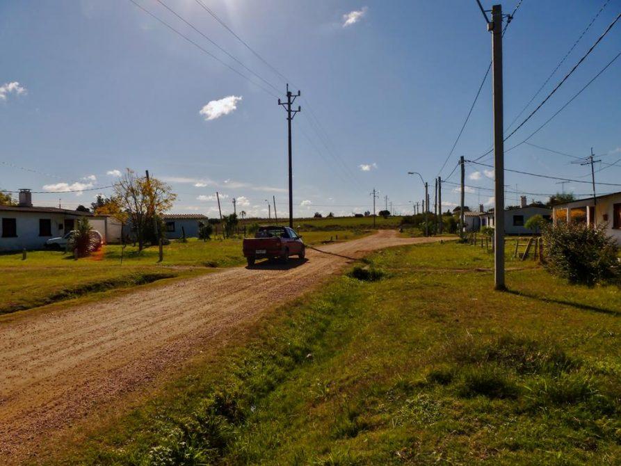 Landstraße in Uruguay