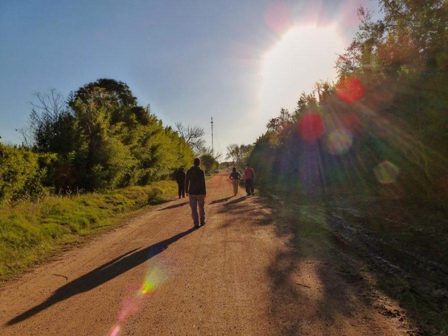 Spaziergang im ländlichen Uruguay