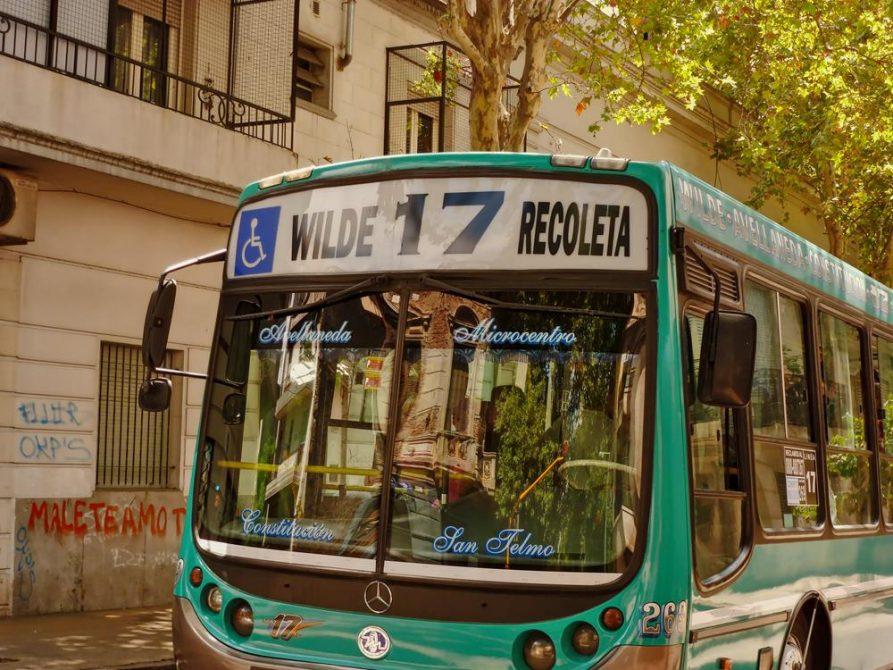 die wilde 17, Bus in Buenos Aires