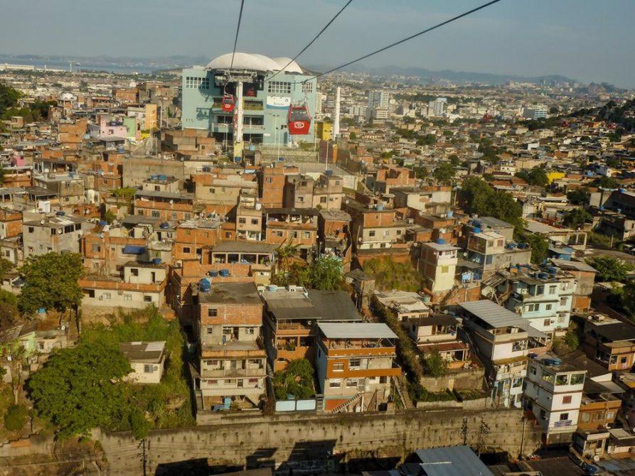 Seilbahn, Complexo do Alemão, Favelas, Rio de Janeiro
