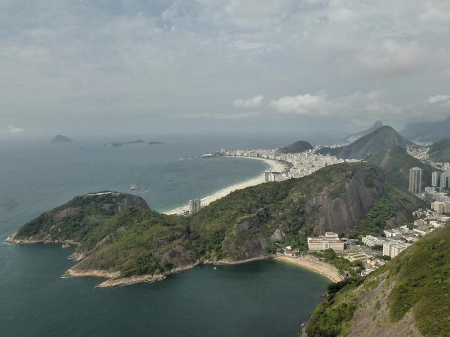 Strände von Copacabana und Vermelho, Rio de Janeiro