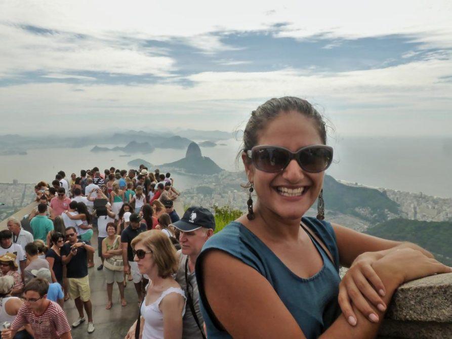 Aussichtsplattform vor Cristo Redentor, Rio de Janeiro
