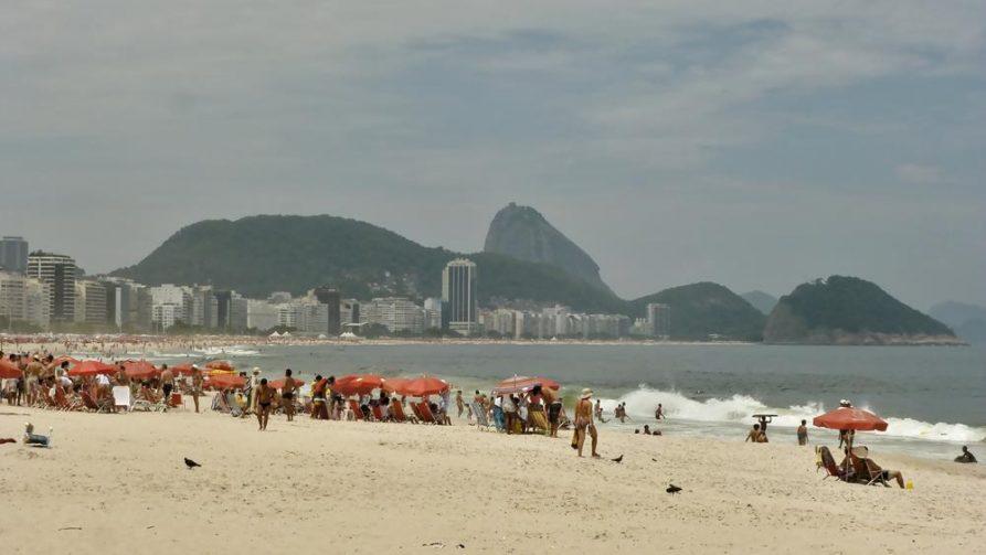 Strand von Copacabana, Rio de Janeiro