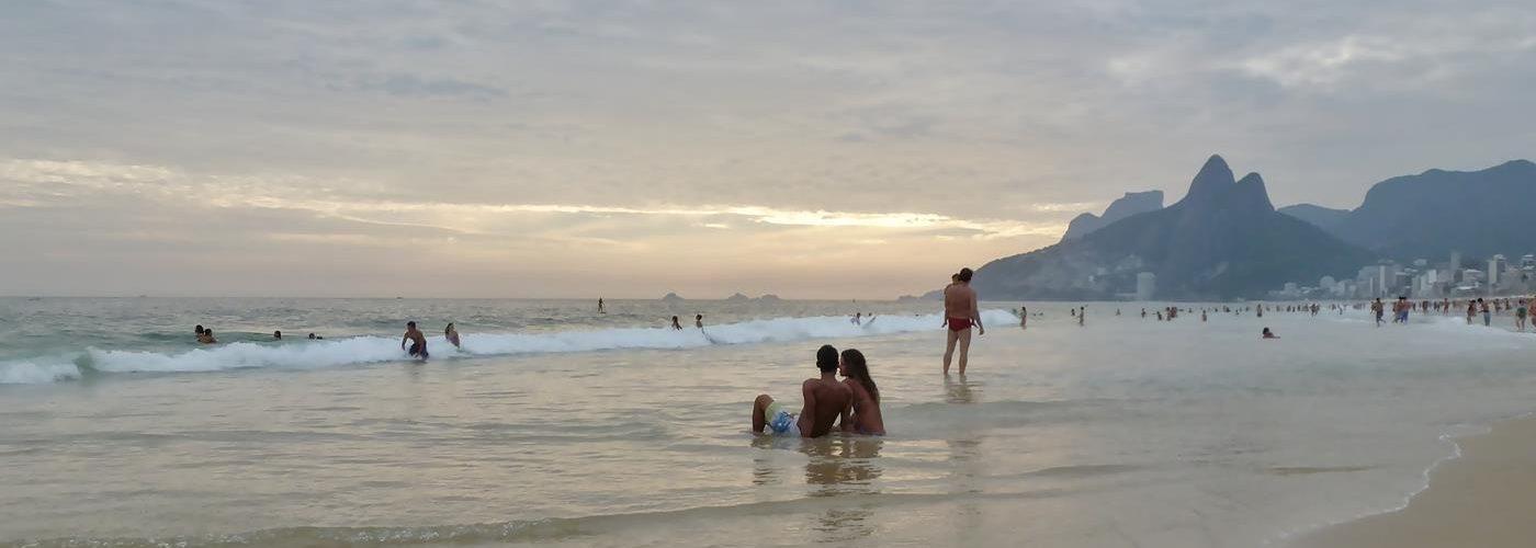 Ipanema, Rio de Janeiro, Brasilien, Titel
