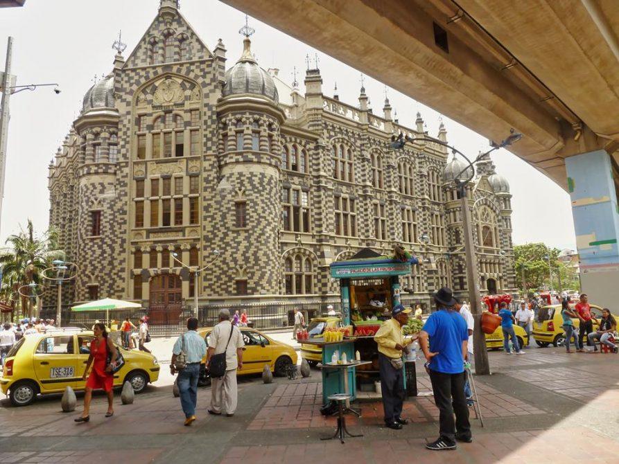 Palast der Kultur in Medellín, Kolumbien