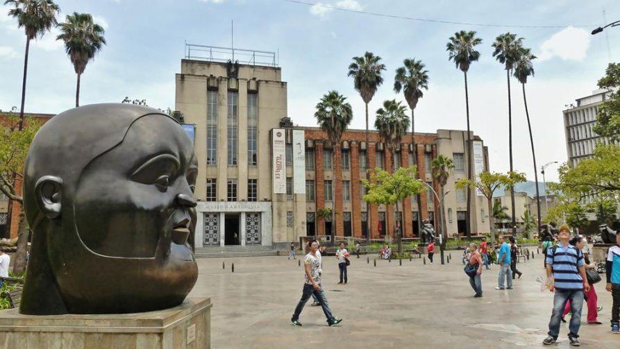 Plaza de las esculturas, Medellín