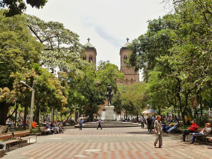 Parque de Bolivar, Medellín