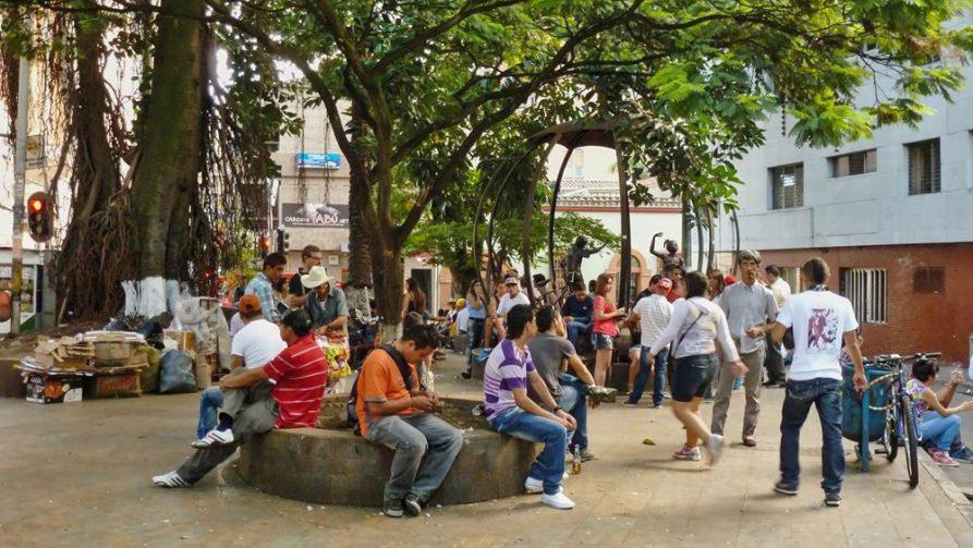 Parque Periodista, Medellín