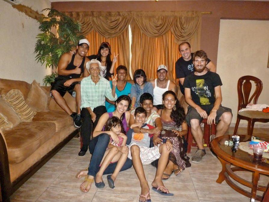 Familienfoto in Maracaibo