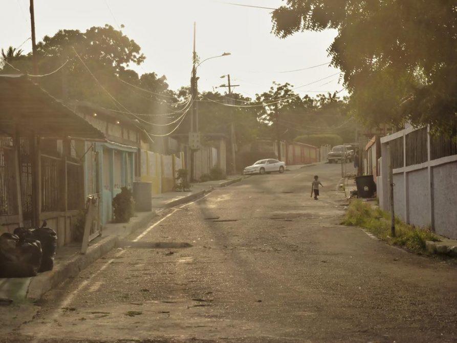 Straße in Maracaibo, Venezuela
