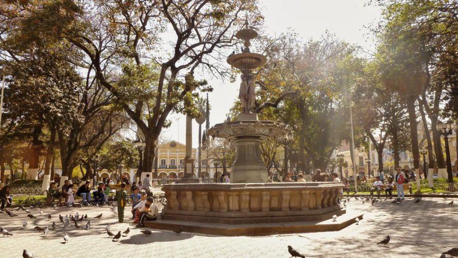 Plaza de Armas, Cochabamba, Bolivien