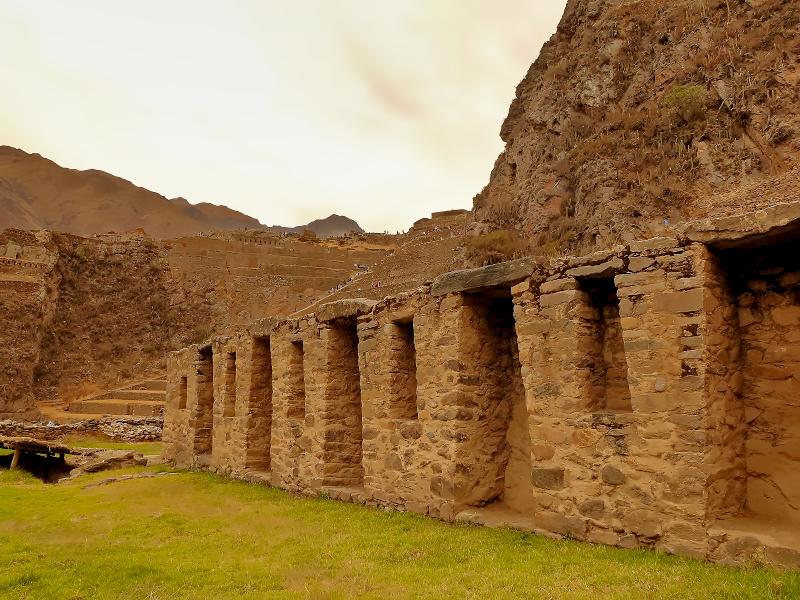 Festungsmauern von Ollantaytambo