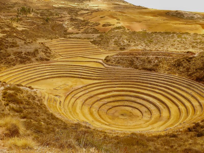 Versuchslabor für Landwirtschaft, Moray, Cusco