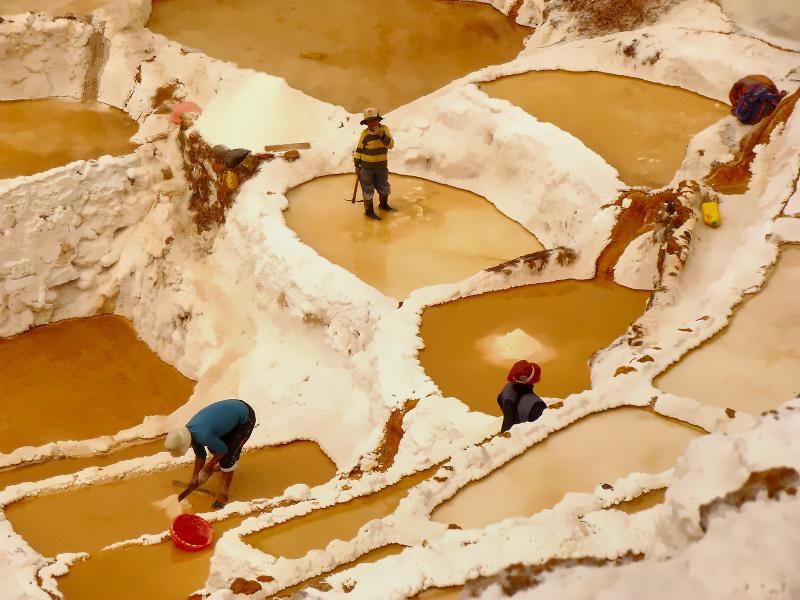 Salzbecken von Maras, Cusco