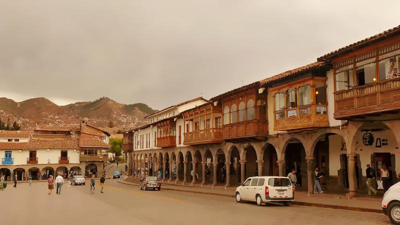 koloniale Architektur in Cusco