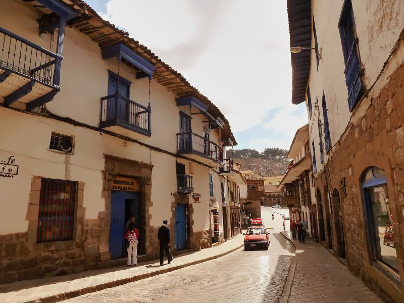 Straßenszene in Cusco