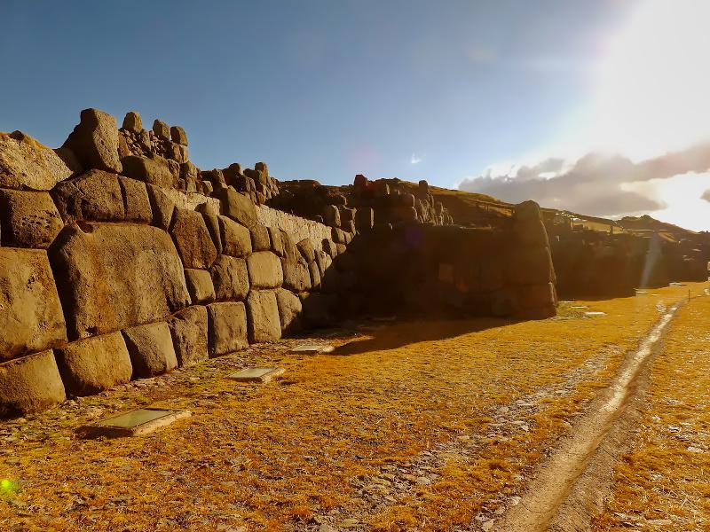 Wallanlage Sacsayhuamán, Cusco