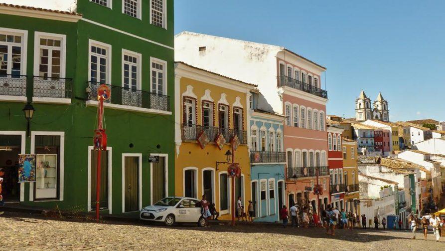 koloniale Gebäude in Salvador