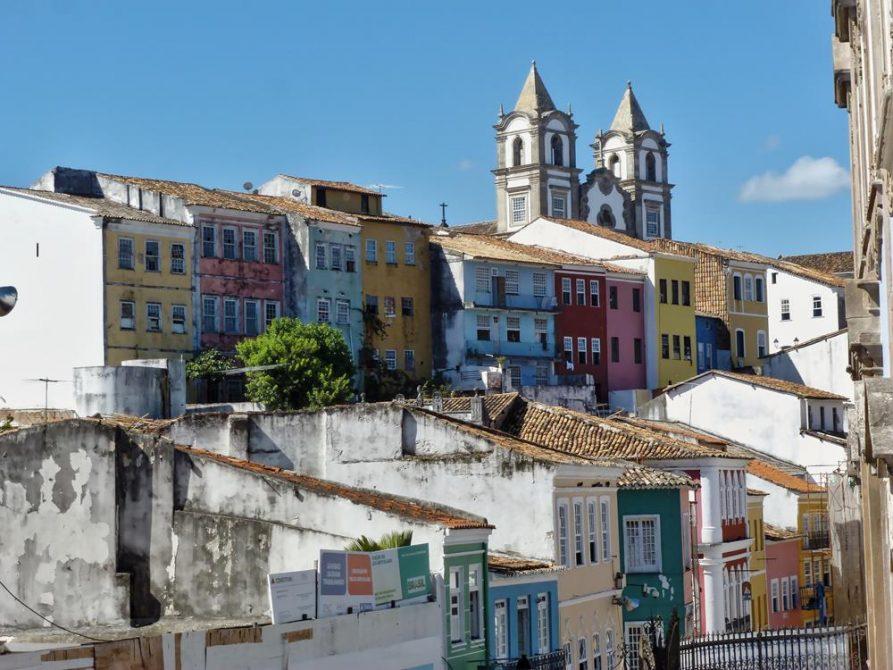 die Altstadt von Salvador