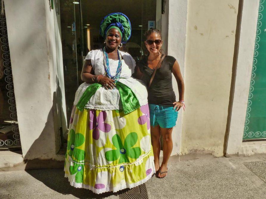 traditionelles Kostüm in Salvador