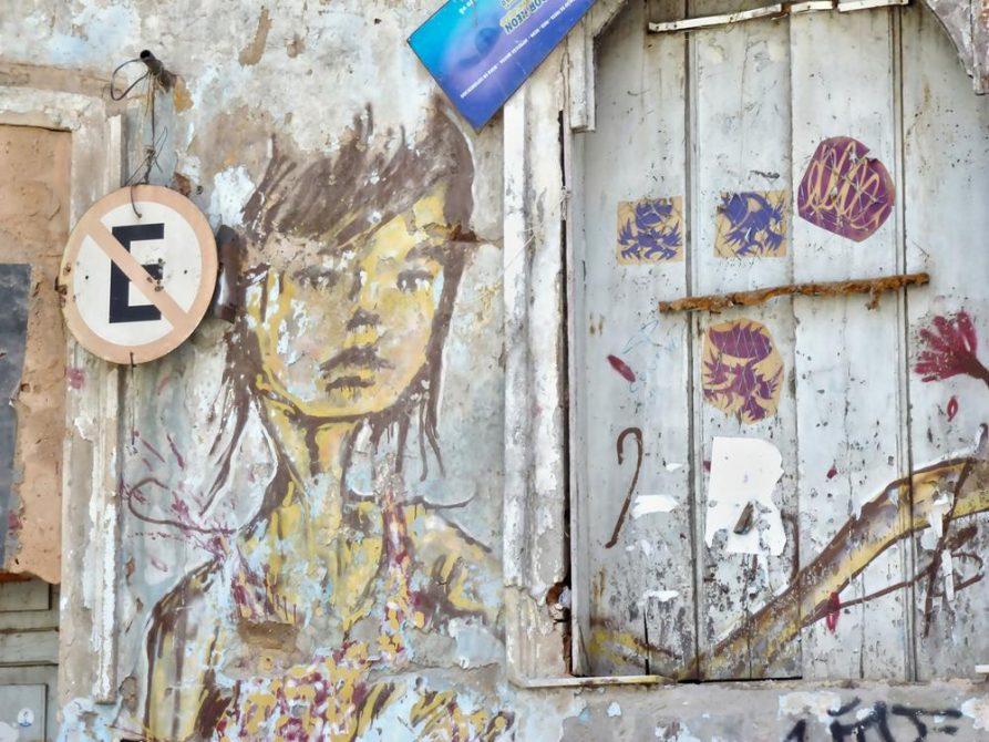 Streetart in Salvador, Brasilien