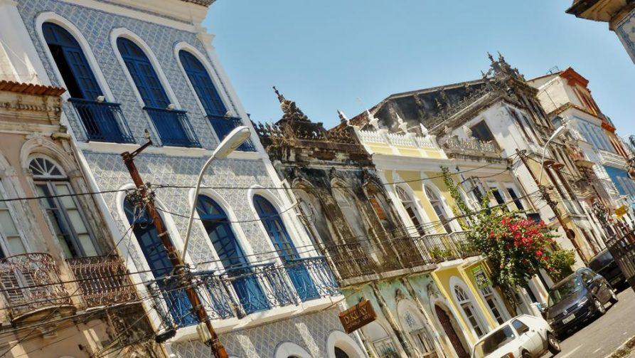 Altstadt in Salvador, Brasilien