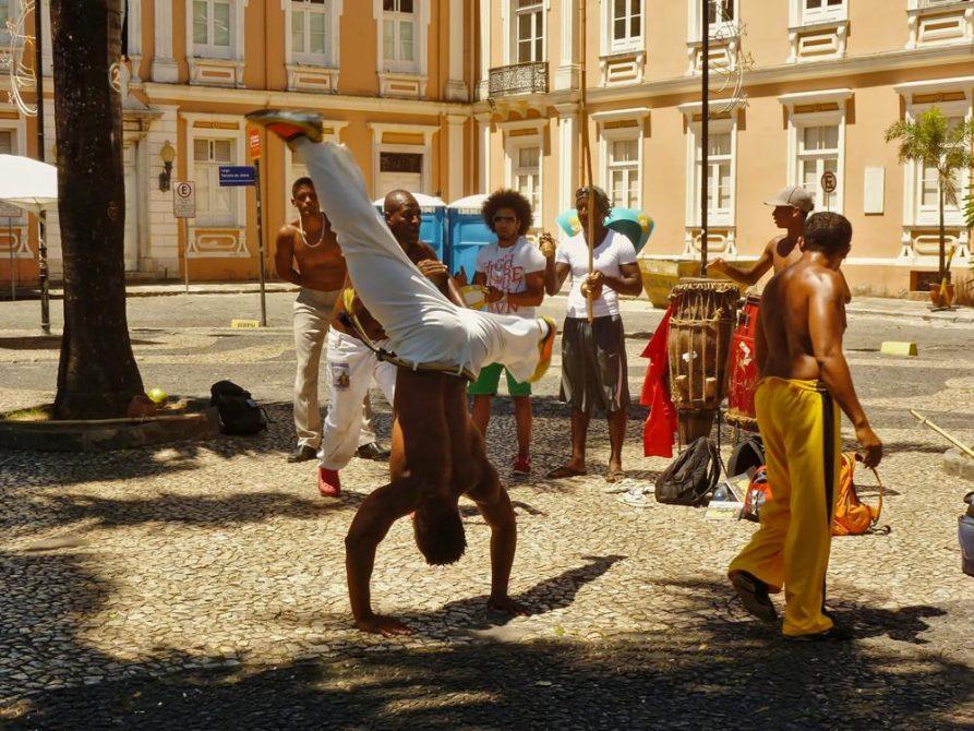 Capoeira in Salvador