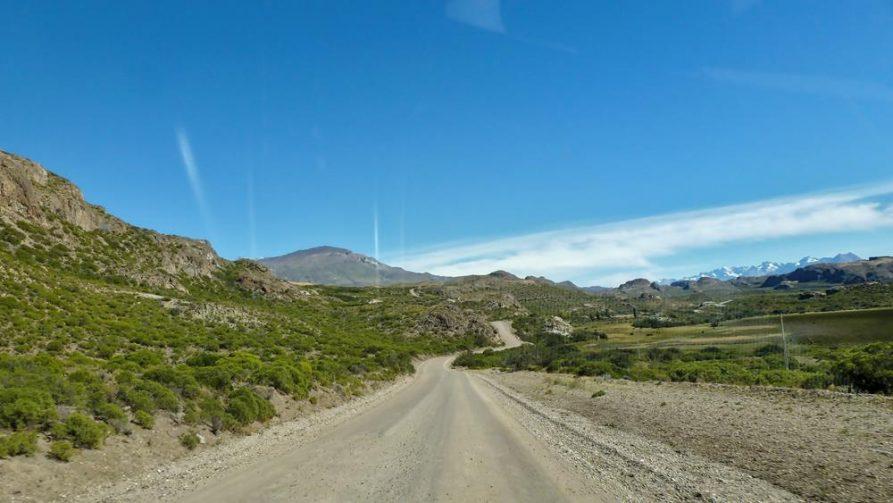 Straße im Süden Chiles