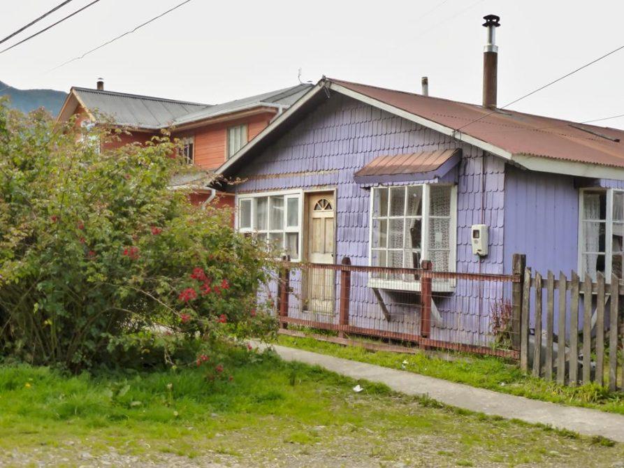 Wohnhaus in Puerto Cisnes, Patagonien