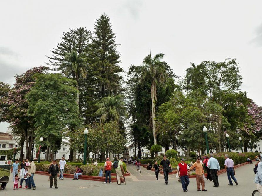 Parque Caldas, Zentrum in Popayán