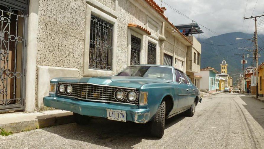 Ford Oldtimer in Mérida, Venezuela