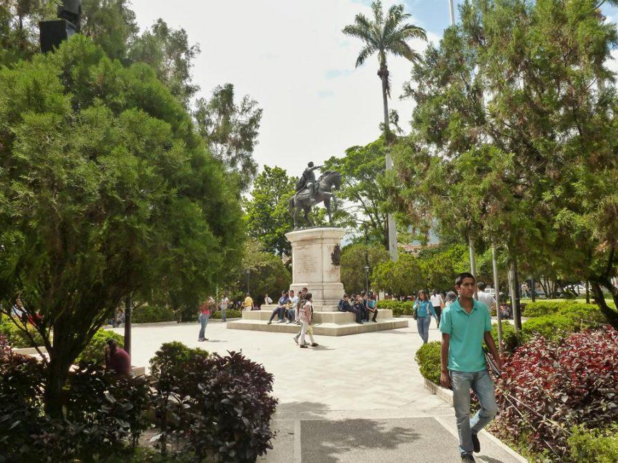 Plaza Bolivar, Mérida, Venezuela