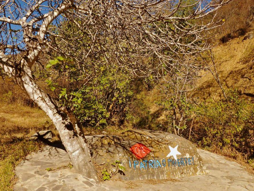 La Higuera, Ché Monument, Santa Cruz, Bolivien