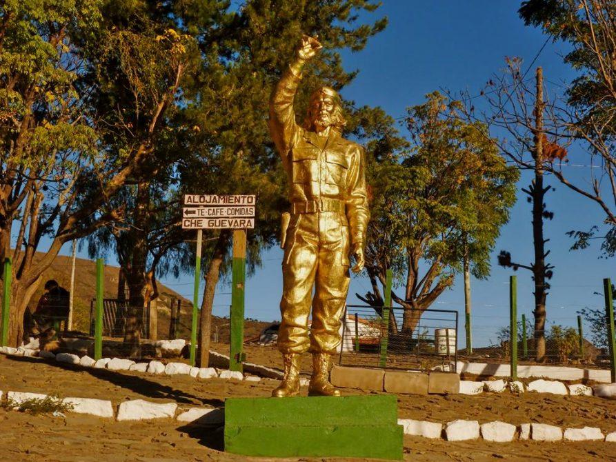 La Higuera, Ché Statue, Santa Cruz, Bolivien