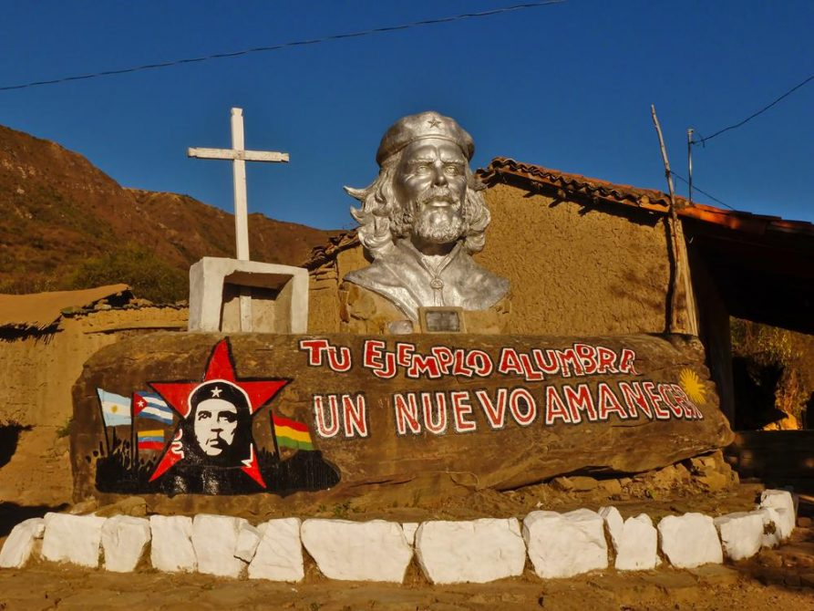 La Higuera, Ché Büste, Santa Cruz, Bolivien