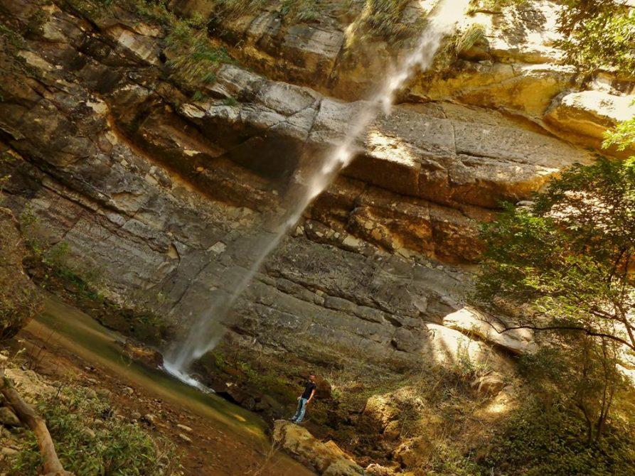 Wasserfall im Nationalpark Amboró, Bolivien