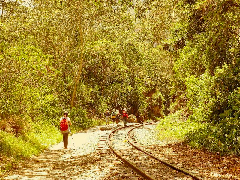 Schienen nach Aguas Calientes, Salkantay Trek