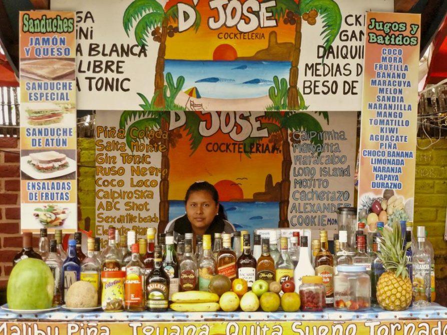 Cocktailstand, Montanita, Ecuador