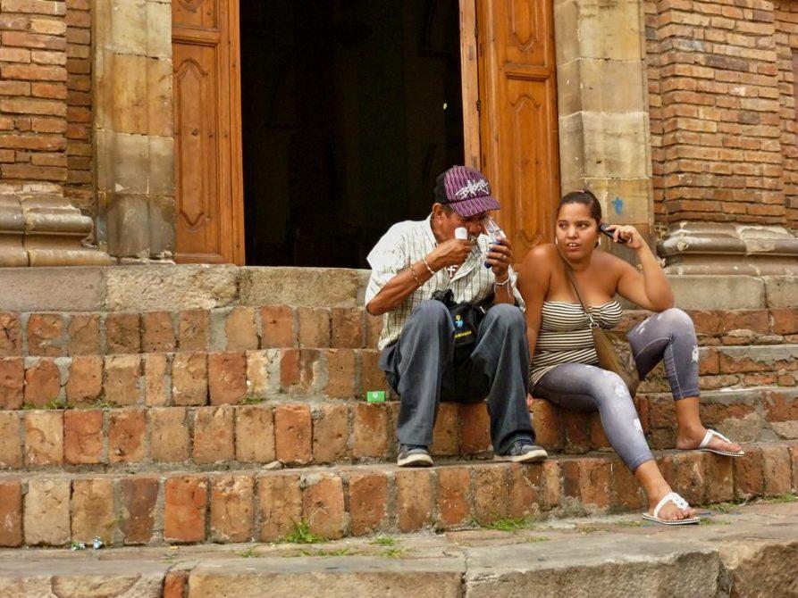 Menschen in Cali, Kolumbien