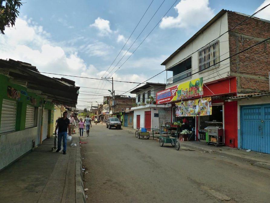 Barrio Popular, Cali, Kolumbien