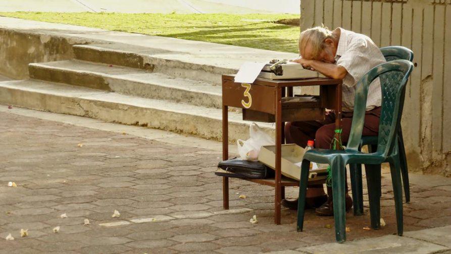öffentlicher Schreiber, Cali, Kolumbien