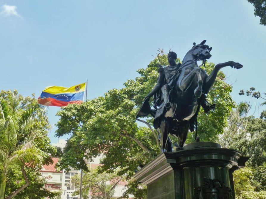 Plaza Bolívar Caracas, Venezuela