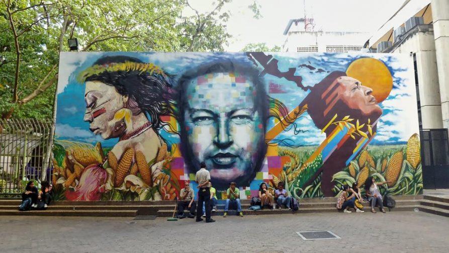 Hugo Chávez, Caracas, Venezuela